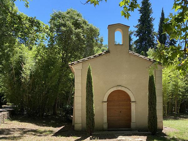 La chapelle, lieu de résidence SAR